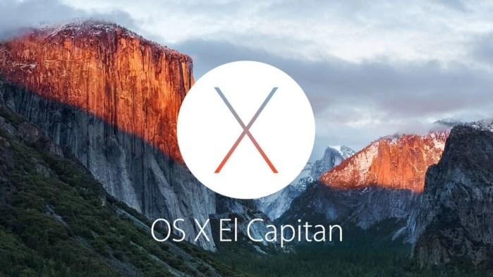 Version 10.11 El Capitan