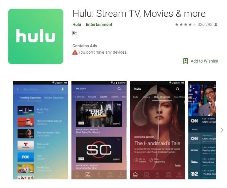 Hulu Apk Download
