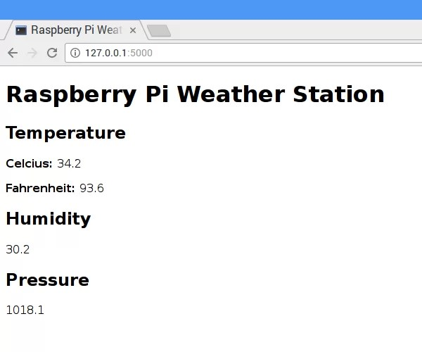 Raspberry Pi Weather Station