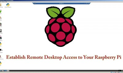 Raspberry Pi Remote Desktop