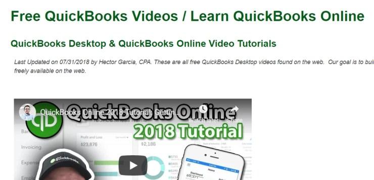 QuickBooks Tutorial
