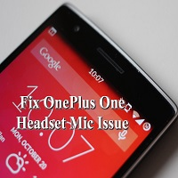 Fix OnePlus One Mic Issue
