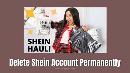 Delete Shein Account