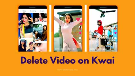 Delete Video on Kwai
