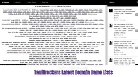 Tamilrockers New URL