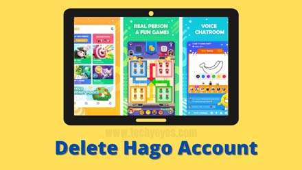 Delete Hago Account