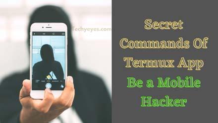secret commands of Termux