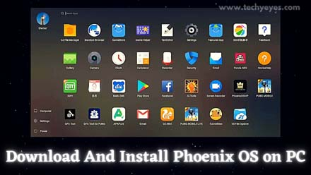 Download And Install Phoenix OS on PC