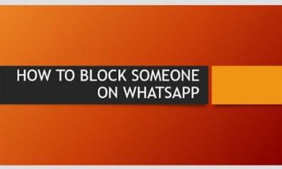 block someone on whatsapp