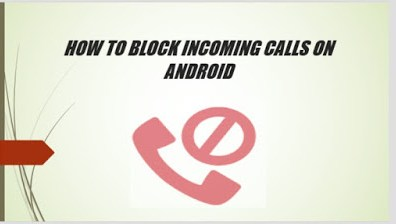 block calls on android