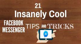 21 Insanely Cool Facebook Messenger Tricks, Tips, Secrets 2017