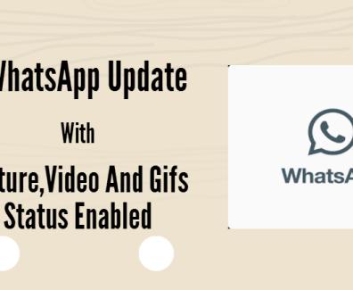 new whatsapp update video status