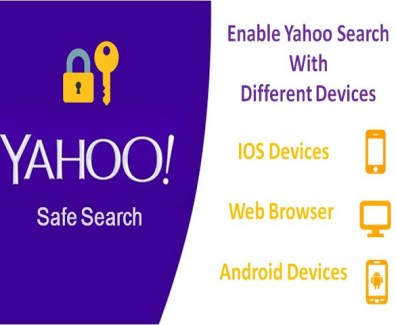 yahoo safe search turn on
