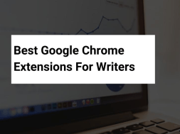 chrome extension for writers