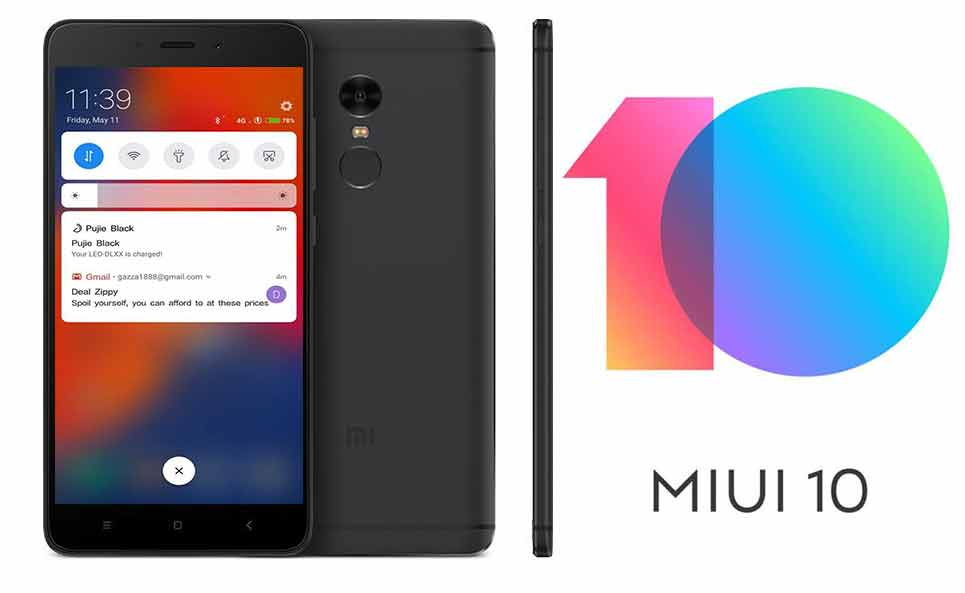 Download MIUI 10 8625 Beta ROM For Redmi Note 4 V8625 Mido