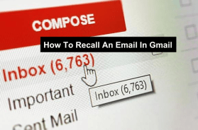 recall an email in Gmail
