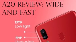 Samsung Galaxy A20 Review: Wide And Fast