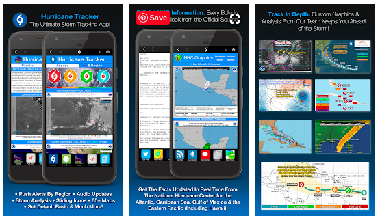 hurricane apps for android