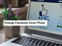 change facebook cover photo