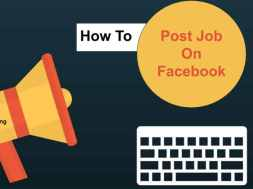 how to post job on facebook