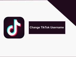 change tiktok username