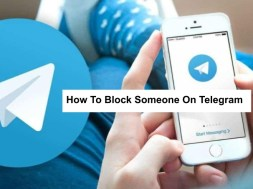 how to block someone on telegram