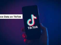 save data in tiktok