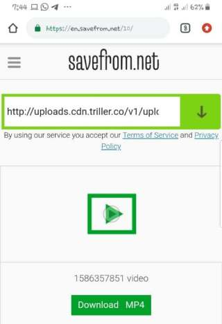 How To Save Triller Videos To Camera Roll