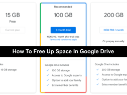 How To Free Up Space In Google Drive