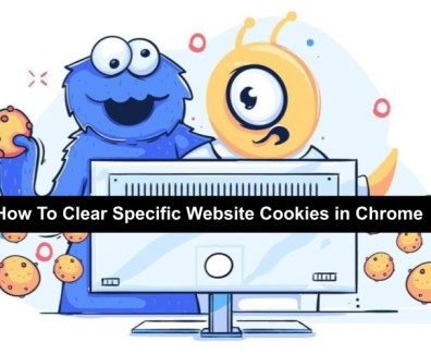 how to clear cookies for a specific site
