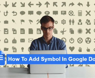 how to add symbol in gogle docs'
