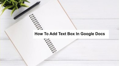 how to insert text box on google docs