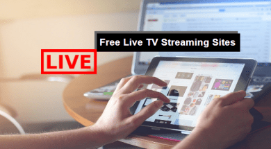 live TV streaming sites