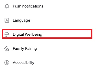 tiktok digital wellbeing