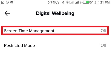 tiktok screen time management