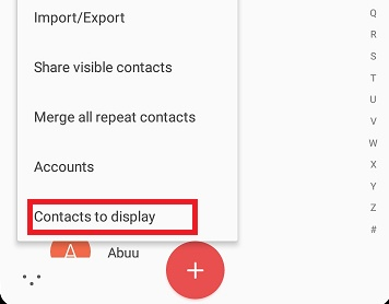 No Contacts On SIM Card