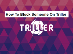 how to block someone on triller