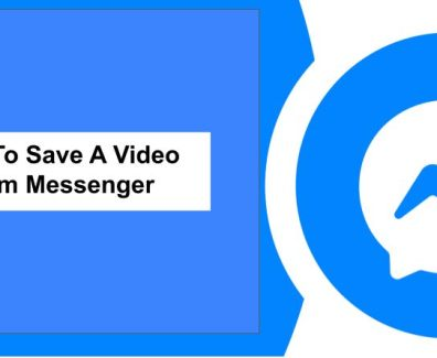 how to save a video from messenger
