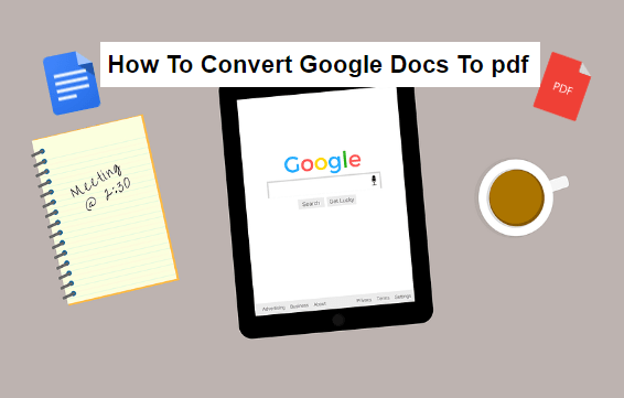 how to convert oogle docs to odf
