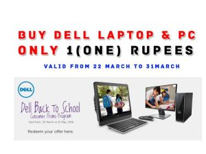 Buy Dell Laptop OR PC in Re. 1 For Students | Back To School Offer By Dell [Hindi]