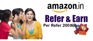 Amazon Shopping Site  Se Refer Karke Unlimited Paise Kamaye |  Refer & Earn 200 INR Per Referral
