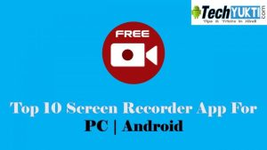 Top 10 Best Screen Recorder App For Android | PC