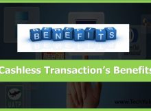 Cashless Transaction benefit