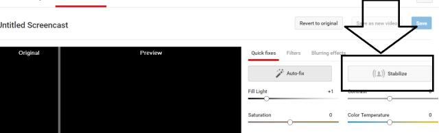 Video Stabilizing