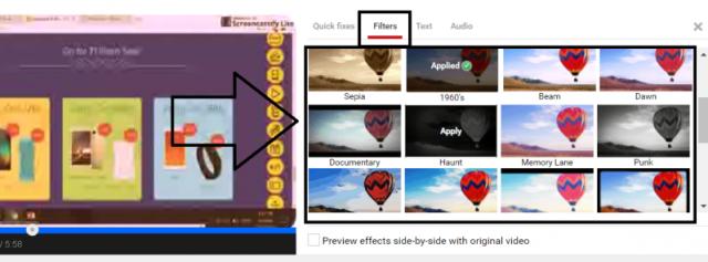 video filter