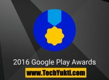 Google Play Store Award 2016