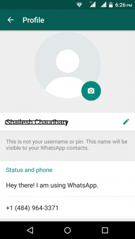 Virtual WhatsApp Account