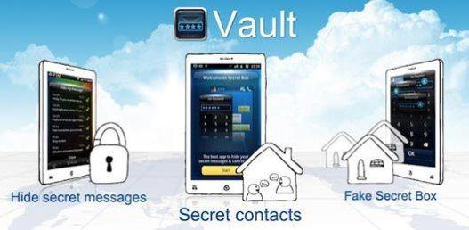 Vault Image and video locker app
