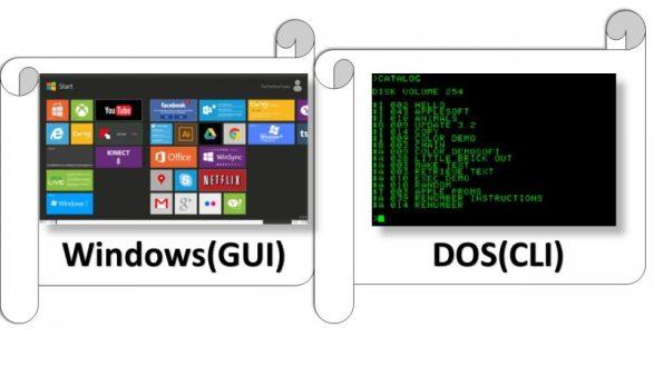 DOS vs Windows