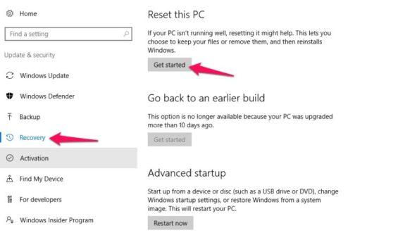 Windows Laptop Ko Kaise Reset Kare step 3